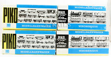 PIKO 'HO' GAUGE RAKE OF 4 ASSORTED TANK  WAGONS(GG2)