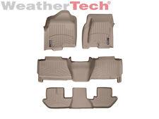 WeatherTech FloorLiner - Cadillac Escalade ESV w/Bench - 2003-2006 - Tan