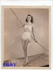 Dusty Anderson busty leggy barefoot VINTAGE Photo