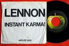 "JOHN LENNON YOKO ONO BEATLES INSTANT KARMA 1970 RARE EXYU 7""PS APPLE JUGOTON"