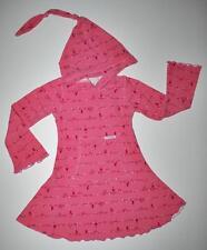 Custom Boutique Design CBD Nature's Foliage Comfy Cotton Knit Hoodie Dress 4T