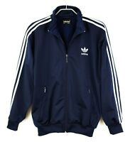 VZ427 Adidas Homme Vintage Fermeture Piste 80's 90's Pull Taille S