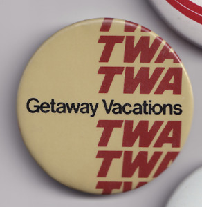 TWA Airlines Pin - Vintage -