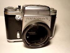 Pentacon Six TL Medium Format SLR Body -TESTED -Good Condition- Mittelformat 6x6