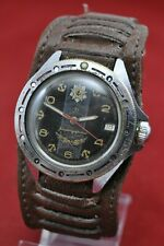 Russian Military Soviet watch CCCP USSR Komandirskie Wostok Vostok Army Serviced