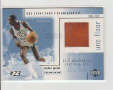 2001 Ud Ovation Michael Jordan 1982 NCAA Championship UNC Game Used Floor #MJF2