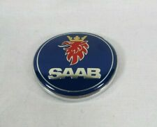 SAAB 93 CONVERTIBLE EMBLEM 99-03 REAR TRUNK BLUE BADGE back sign symbol logo