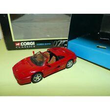FERRARI 355 Goldeneye J. BOND CORGI 92978 1:43