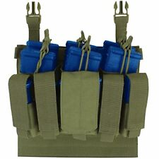 Condor VAS Plate Carrier Rifle/Pistol Tactical Recon Magazine Pouch OD Green
