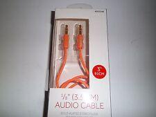 "RADIO SHACK 4201248  3-FT ORANGE AUDIO CABLE  1/8"" (3.5MM)"