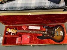 Fender Jazz Bass Nitrolack und orig. tweed Koffer