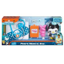 New Fisher-Price OCTONAUTS Peso's Medical Bag Doctor Set 9 Pcs w/ Soft Plush Toy