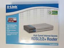 D-link DSL-524T ADSL2+ Modem Router 4-Port Switch 10/100 Mbps DSL-524T ADSL