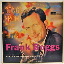"Frank Boggs ""Songs from the Heart"" Vinyl LP Word Records WST-8051 VG Stereo"