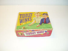 """Vintage Tiddly Winks game """"The Harlesden Series. 1950s"""