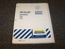 New Holland Td5030 Tractor Engine Workshop Shop Service Repair Manual Guide Book