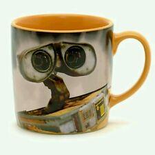NEW DISNEY STORE 3D WALL-E SLOGAN CHARACTER MUG CUP SCULPTED WALLE  PIXAR