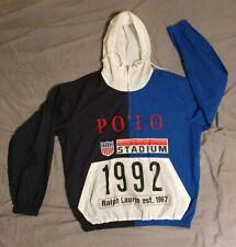 Polo Ralph Lauren 1992 Stadium Popover Jacket Size M