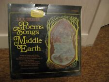J.R.R. Tolkien/ Poems And Songs Of Middle Earth/ Caedmon/ 1967/ SEALED