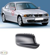BMW 3 E46 COUPE 1999 - 2006 NEW WING MIRROR COVER CAP PRIMED RIGHT O/S DRIVER