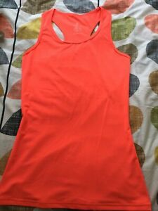 Sweaty Betty Orange Vest Size XS Ex Con