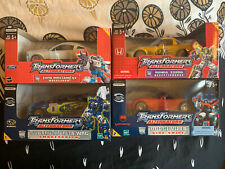 Transformers Alternators Lot Wheeljack Decepticharge Smokescreen Sideswipe New