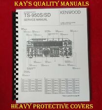Kenwood TS-950S/SD Service Manual w/32 LB Paper 😊C-MY OTHER MANUALS😊