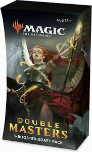 MTG - Double Masters Multipack | 3 Booster Packs | 2 Rares | 2 foils in Every p.