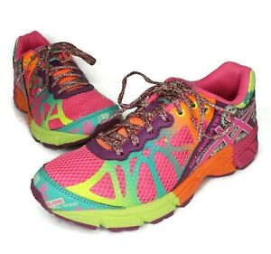 Asics MEN'S Pink Gel-Noosa Tri 9 Running Trail Sneakers Size 5/WOMEN'S 6.5 US