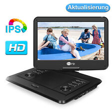 "AKKU 14"" Auto Tragbarer DVD Player IPS Bildschirm 1920*1080 USB SD Fernbedienung"