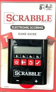 Scrabble Electronic Scoring Handheld Scorekeeper & Guide - Tested and Working