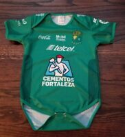 Club Leon Baby Soccer Jersey Futbol Mexico Liga Mx mameluco panalero Bebe f576b92c19ff4