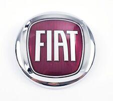 Fiat Insignia Emblema Frontal Logotipo Rojo Delant. Ducato Tipo Doblo 500L 12cm