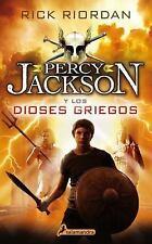 Percy Jackson y los Dioses Griegos by Rick Riordan (2016, Paperback)
