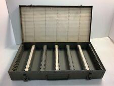 Vintage Brumberger 150 Slide Storage Container Photography