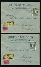 George V (1910-1936) Used Austrian Stamps