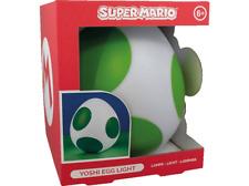 Super Mario Yoshi Ei Lampe 20cm Lampe, Weiß/Grün