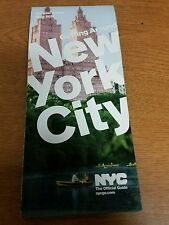 Official New York City NYC Visitor Tourist Map Guide 2017 Edition-Free Shipping