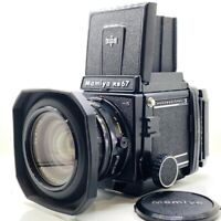 【NEAR MINT】MAMIYA RB67 Pro S + SEKOR C 65mm F4.5 + 120 Film Back From JAPAN 233