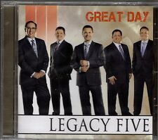 "LEGACY FIVE....""GREAT DAY""......BRAND NEW SEALED GOSPEL CD"