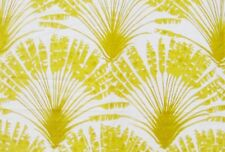 Christopher Farr Large Scale Palm Print Upholstery Fabric- Palma / Lemon 3.15 yd
