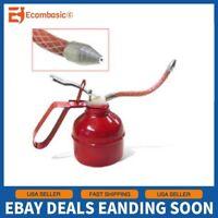 NEW Flexible Spout Gun Oil Can 300cc Pump Oiler Lubrication