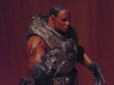 """Gears of War Augustus Cole 7"""" Action Figure – Rare NECA – Used"""