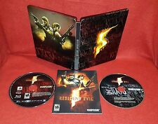 Resident Evil 5 -- Collector's Edition Steelbook (Sony PlayStation 3 PS3, 2009)
