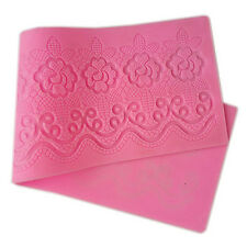 Silicone Cake Lace Mat Mold Fondant Deco Wedding Flower Embossing Mold Hot Sale
