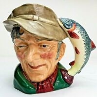 Royal Doulton Large Character Jug 'The Poacher' D6429! Made in England!