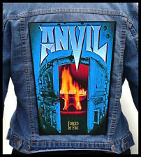 ANVIL - Forged in Fire --- Giant Backpatch Back Patch