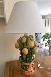 Bassano Ceramic Lamp Handmade Unique 70cm Citrone Motivie