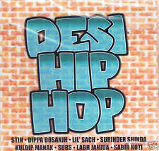 DESI HIP HOP - LIL SACH CLASSIC UK BHANGRA CD - FREE UK POST