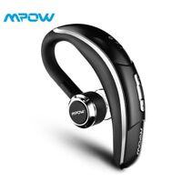 Mpow Wireless Bluetooth 5.0 Noise Cancelling Trucker Headset Earpiece Earbud